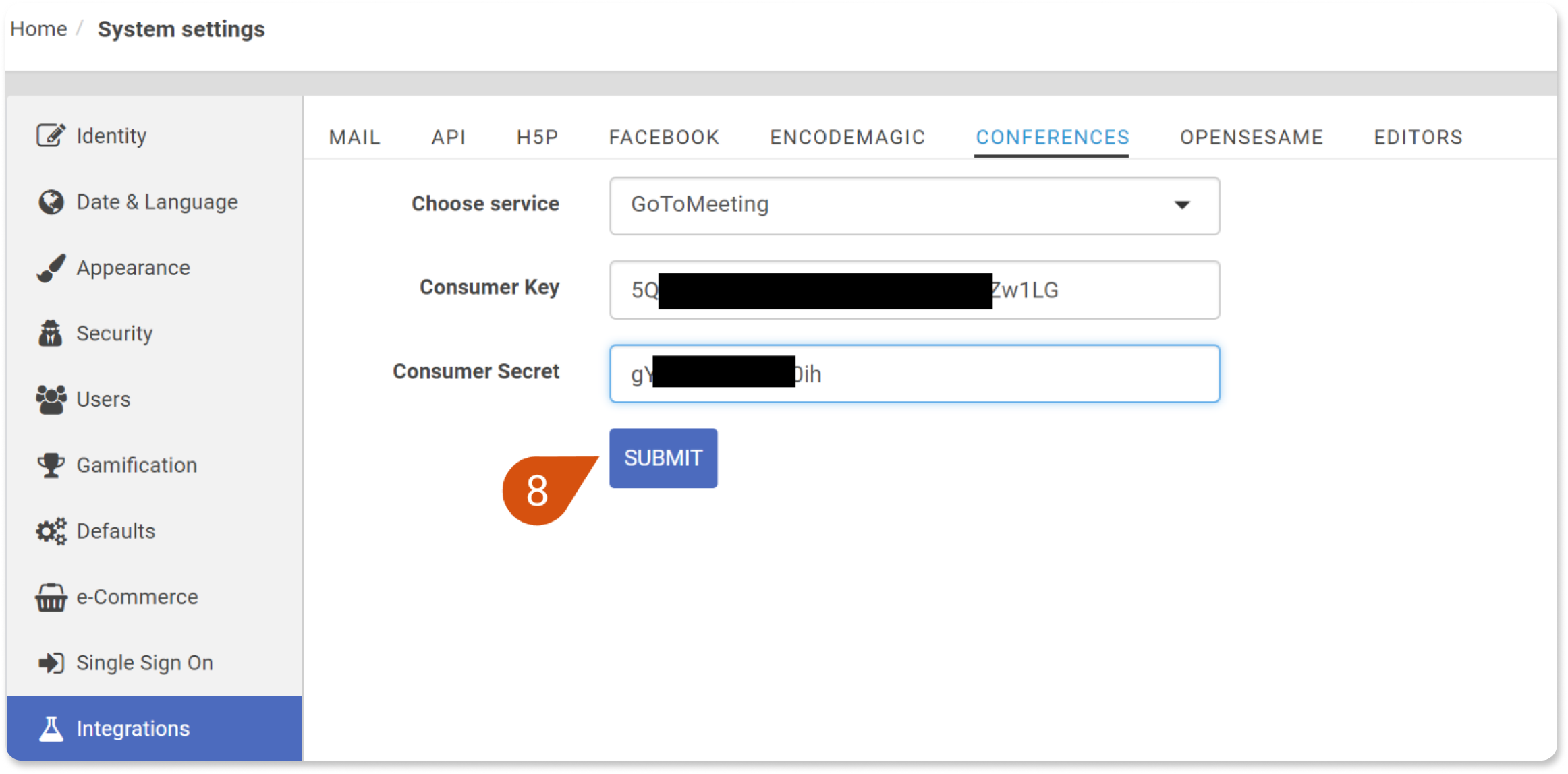 How to integrate your portal with GotoMeeting/GotoTraining