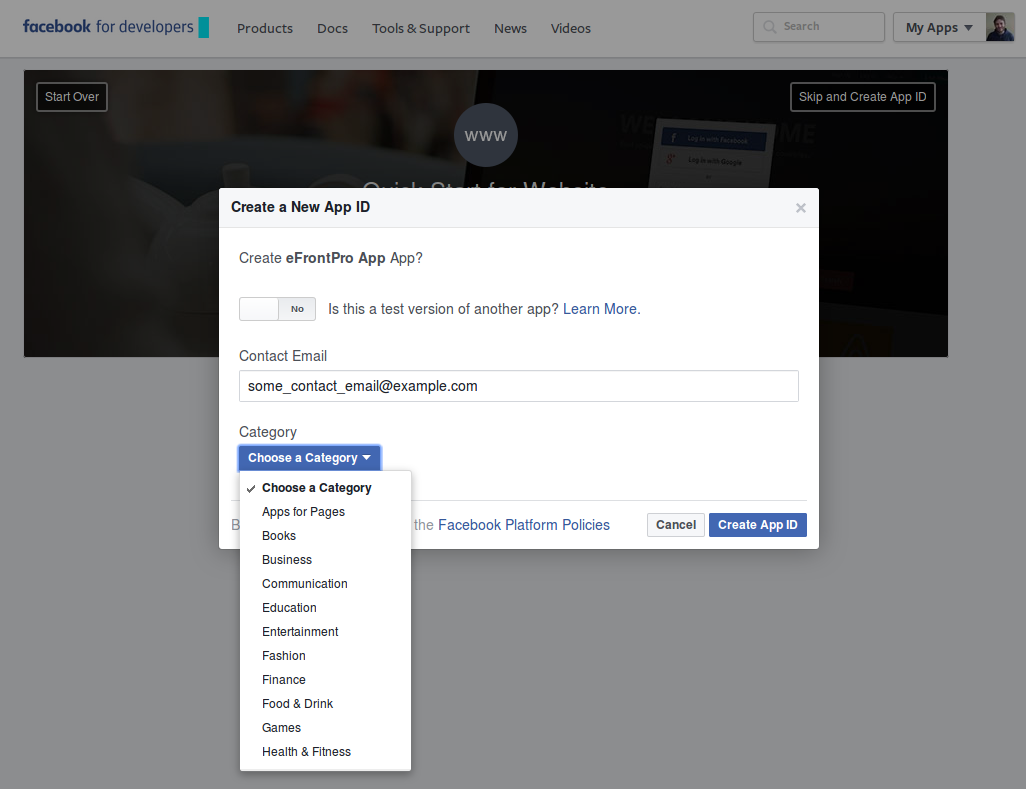 How to integrate your portal with Facebook – How may we help