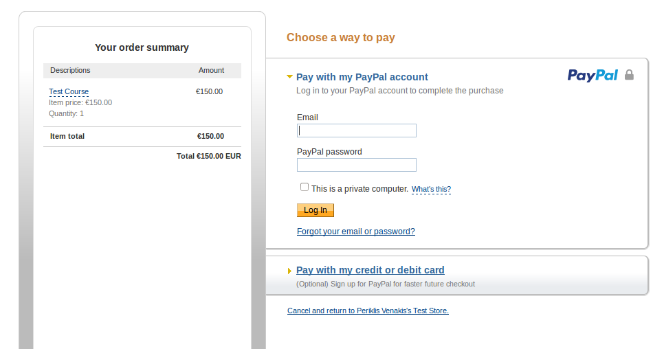 How to sell your courses through Paypal – How may we help you?