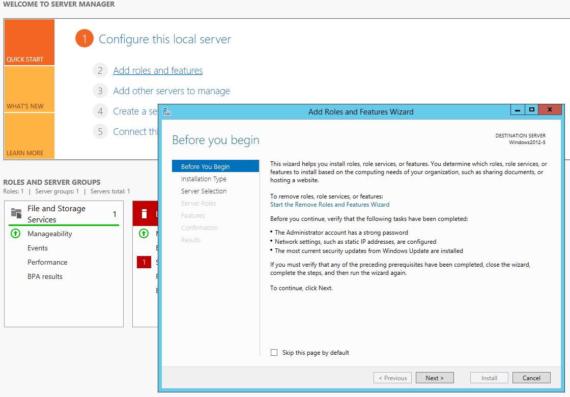 How to install eFront under IIS in Windows 2012 – How may we